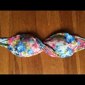 Abercrombie and Fitch bandeau bathing suit top